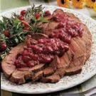Pot Roast with Cranberry Sauce
