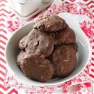 Double Chocolate Pecan Cookies