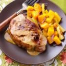 Pork Chops in a Honey-Mustard Sauce