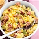 Ham and Avocado Scramble