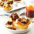 Sloppy Joe Biscuit Cups