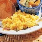 Scrambled Homemade Egg Substitute