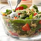 Strawberry-Quinoa Spinach Salad
