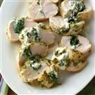 Spinach-Pesto Turkey Tenderloins