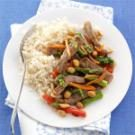 Orange Beef and Asparagus Stir-fry