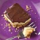 Chocolate-Peanut Cheesecake Bars