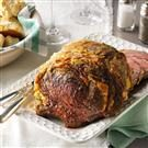 Salt-Encrusted Rib Roast