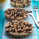 Chocolate Peanut Butter Mousse Tarts