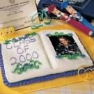 Graduation Photo  Album Cake