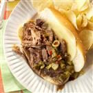 Mom's Italian Beef Sandwiches