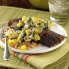Blackened Catfish with Mango Avocado Salsa