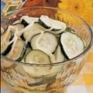 Refrigerator Cucumber Slices