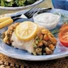 Fennel Stuffed Cod