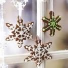 Cinnamon Snowflake Ornaments