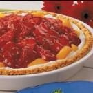 Peach Strawberry Pie