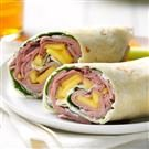 Tropical Beef Wrap
