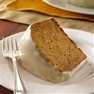 Gingersnap-Crusted Sweet Potato Cake