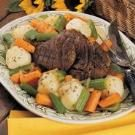 Venison Pot Roast with Vegetables