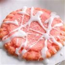 Glazed Strawberry Cookies