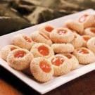 Apricot Sesame Cookies
