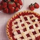 Rhubarb/Strawberry Pie