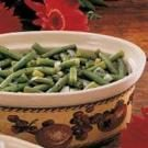 Microwave Herbed Green Beans