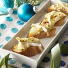 Honey-Hazelnut Brie Tartines