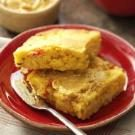 Southwestern Corn Bread with Chili Honey-Lime Butter