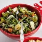 Roasted Green Vegetable Medley