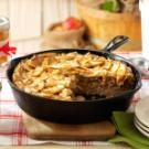 Caramel-Apple Skillet Buckle