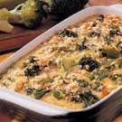 Crumb-Topped Broccoli Bake