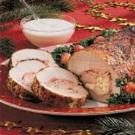 Cheese-Stuffed Pork Roast