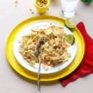 Chicken & Rice Salad with Peanut Sauce