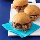 Tropical Pulled Pork Sliders