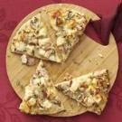 Spicy Mustard Turkey Pizza
