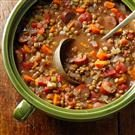 Lentil & Chicken Sausage Stew