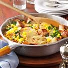 Sausage & Vegetable Skillet Dinner