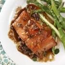 Orange-Pecan Salmon for Two
