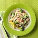Turkey Penne with Lemon Cream Sauce
