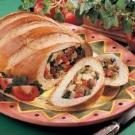 Stuffed Bread Boat