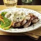 Pork Medallions with Raspberry-Balsamic Sauce