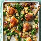 Pan-Roasted Chicken and Vegetables