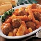 Oven Meatball Stew