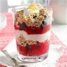 Berry Breakfast Parfaits