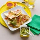 Super-Quick Shrimp & Green Chili Quesadillas