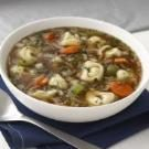 Zesty Chicken Tortellini Soup