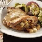 Stuffing-Stuffed Pork Chops