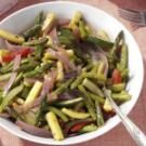 Sauteed Spring Vegetables