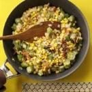 Creamy Sweet Corn with Okra
