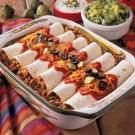 Spanish Rice Enchiladas